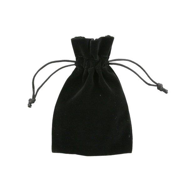 Bolsas de terciopelo 10x15cm negra