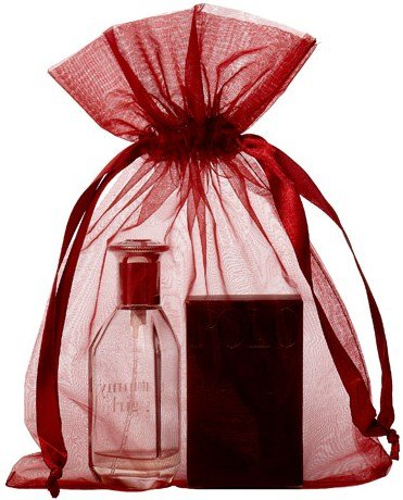 Bolsa de organza Tamaño 20x28cm burgundy