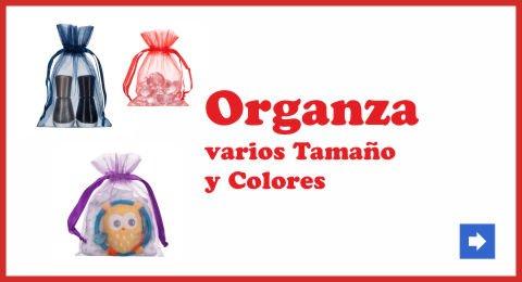 bolsas  de organza