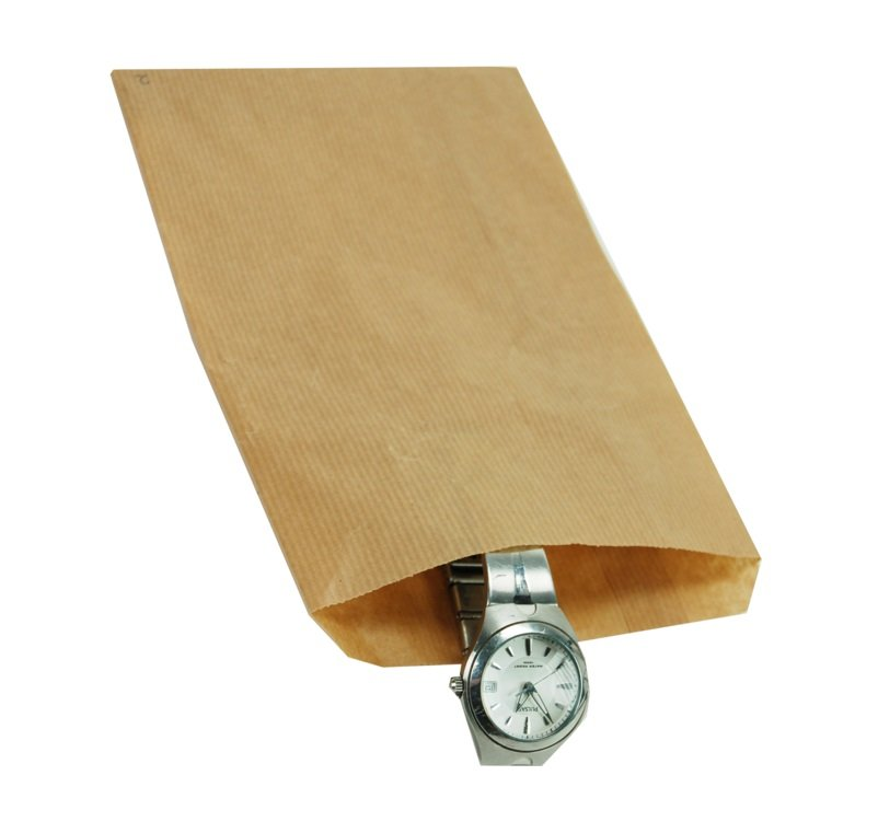 1000 piezas de bolsas de papel marrón Opción de varios tamaños2.0