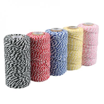 Cordón de Algodón Varios Colores 1,5mm x 100mtr