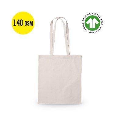 50 piezas Bolsa de Algodón Ecológico 140 Gramos Calidad, Tamaño 37x41cm
