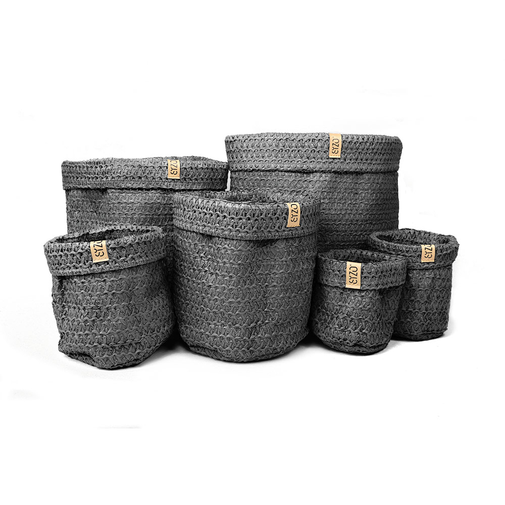 Knitted-bags-Black-complete-set