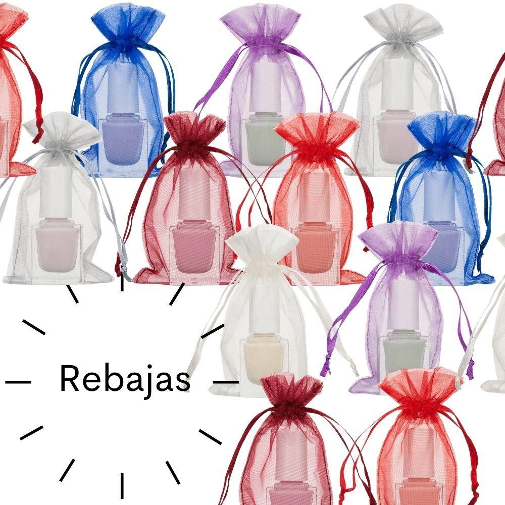 Mini bolsas de organza tamaño 7 x 12 cm REBAJA